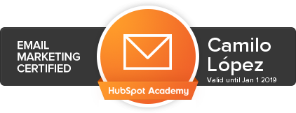 Email Marketing HubSpot Badge