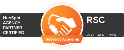 RSC hubspot partner badge