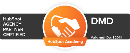 hubspot agency partner certified badge