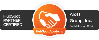Aloft Group is a HubSpot Partner