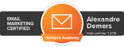 Certification Email Marketing