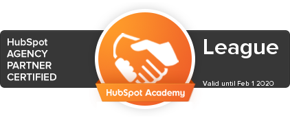 League Digital Hubspot Partner image