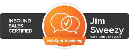 hubspot sales inbound certification