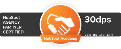 certified hubspot agency partner logo