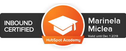 Image: Inbound Certified by HubSpot Academy