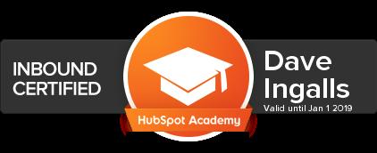 Dave_Ingalls_HubSpot_Inbound_Certification