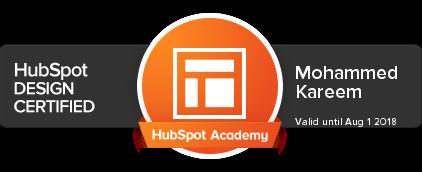 HubSpot Design Certified   Dubai
