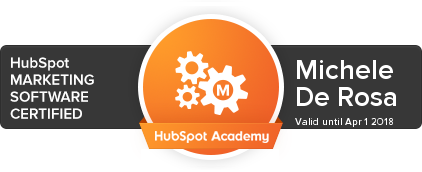 Michele De Rosa | Marketing Software Certified | HubSpot Academy