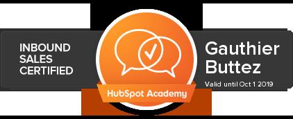HubSpot Academy - Inbound Sales