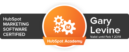 Marketing Software Certification from HubSpot