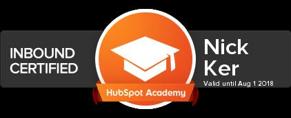 Hubpot certified