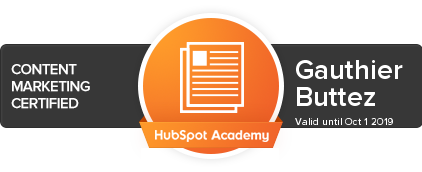 HubSpot Academy - Content Marketing