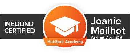Certifiée Inbound Marketing - HubSpot Academy