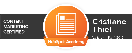 HubSpot Content Marketing Certification