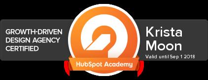 HubSpot Growth-Driven Design Certified