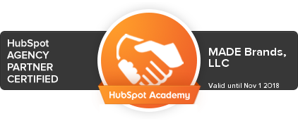 We're a HubSpot Certified Agency Partner!