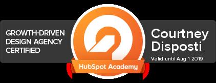 Courtney Disposti HubSpot Academy - Growth-Driven Design .