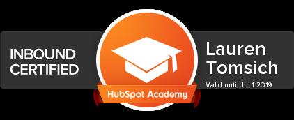 HubSpot Academy - Inbound Badge