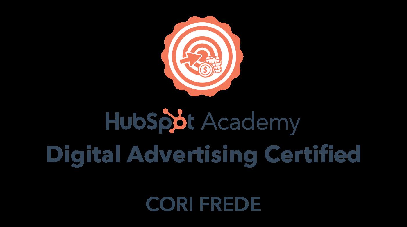 HubSpot Academy - Digital Marketing Certification, 2021-2024
