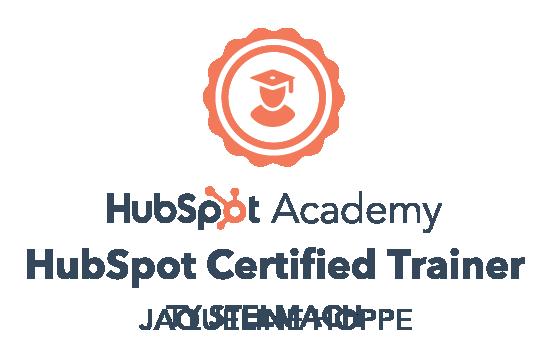 HubSpot Trainer Certificate