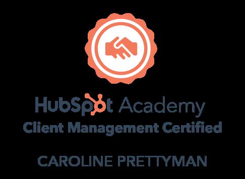 HubSpot Academy, Client Management Certified