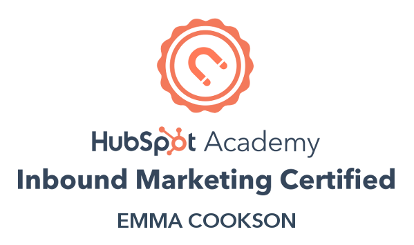 Inbound Marketing Certification badge