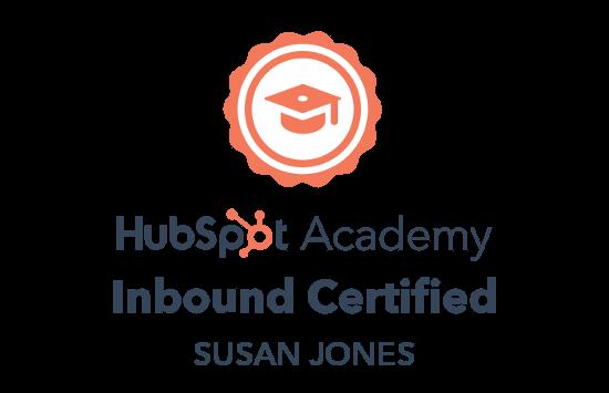 Hubspot Inbound Certification badge