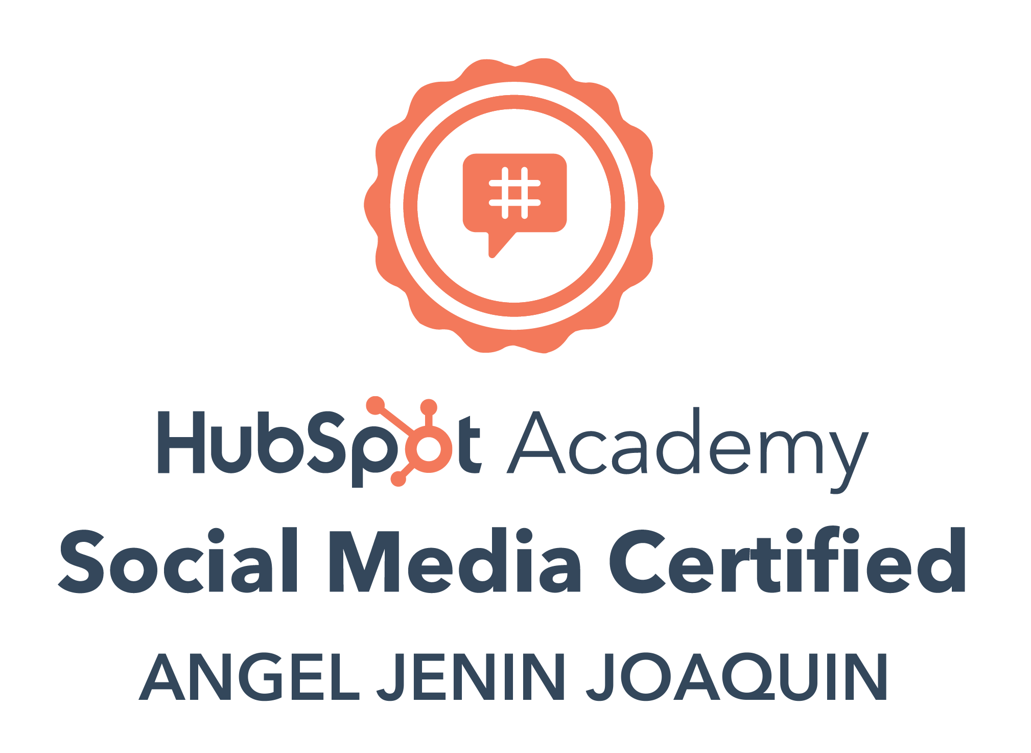 Hubspot Social Media Certification