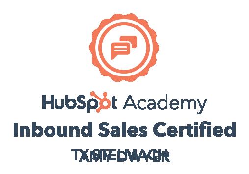 HubSpot inbound sales certified Amy Dwyer