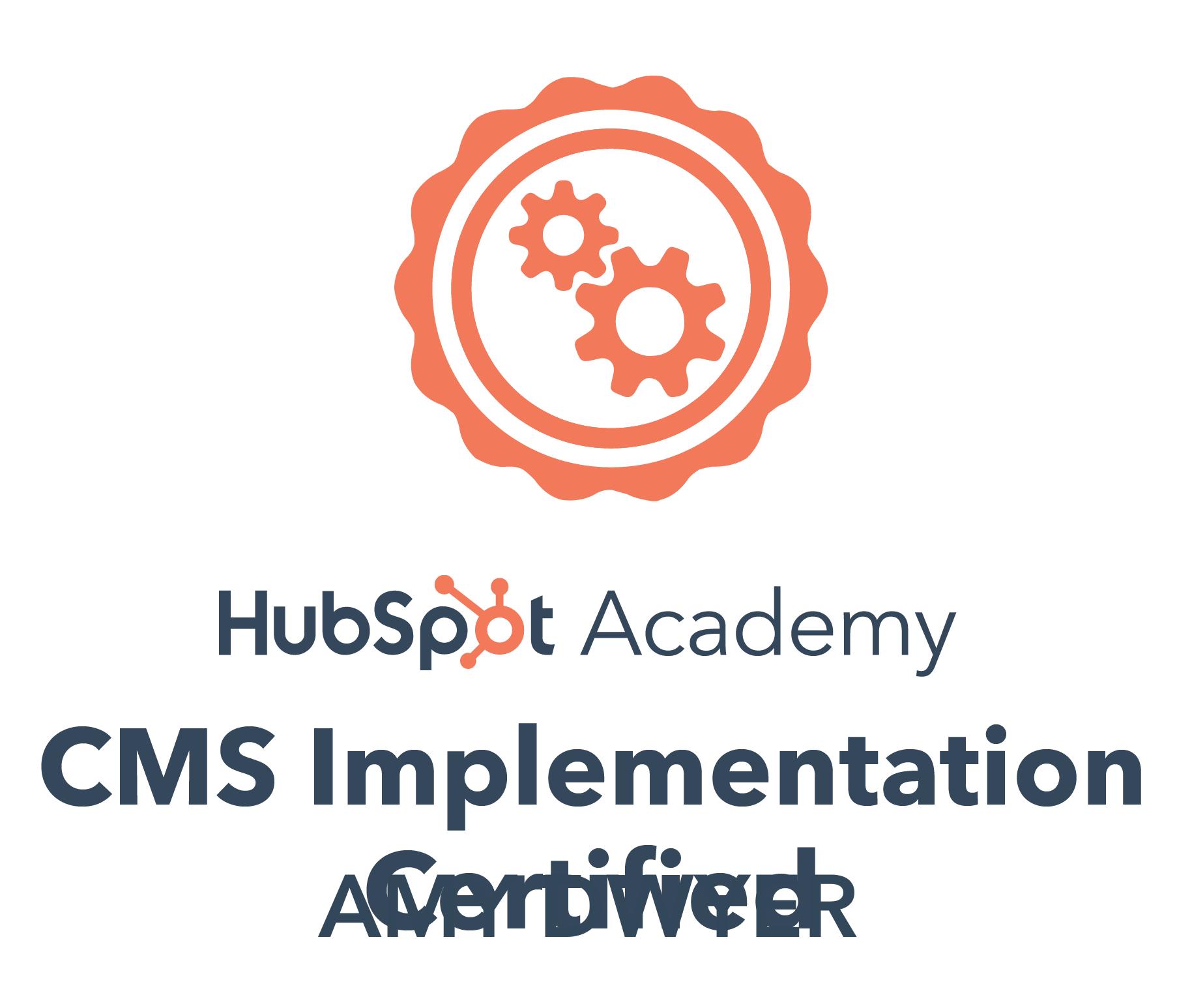 HubSpot CMS implementation certified Amy Dwyer