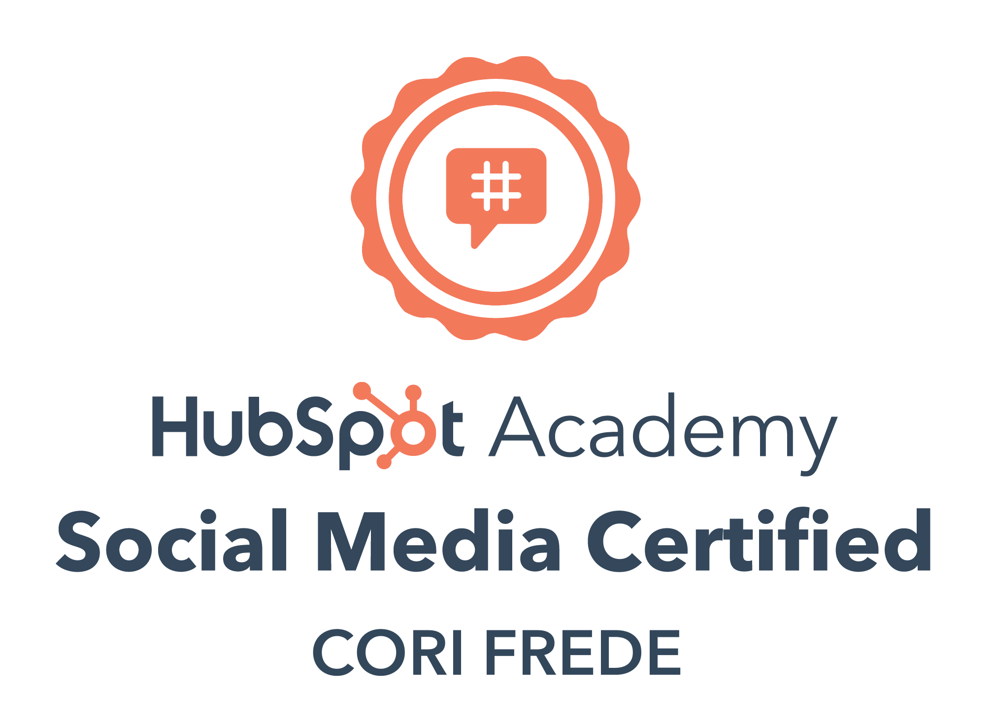 HubSpot Academy - Social Media Marketing Certification, 2020-2023