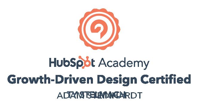 HubSpot Growth Driven Design Certification Adam Steinhardt The Kingdom